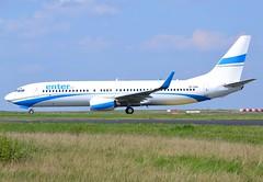 SP-ENN, Boeing 737-8CX(WL), 32368 / 1289, Enter Air, CDG/LFPG, 2017-04-03, Bravo loop, taxi to runway 09R/27L. (alaindurandpatrick) Tags: enterair 738 737800 737 737ng boeing boeing737 boeing737ng boeing737800 airlines airliners jetliners cdg lfpg parisroissycdg airports aviationphotography 323681289 spenn