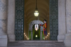 Swiss guard (lomby92) Tags: rome city eternal vatican swiss guard art italy