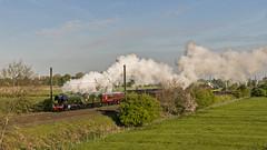 1 of 4, and the best (4486Merlin) Tags: 60103 ecml england europe exlner flyingscotsman lnerclassa3 northyorkshire railways steam transport unitedkingdom york gbr virgintrains4trainevent