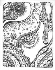 Tangle 233 (kraai65) Tags: doodle zentangle zendoodle drawing