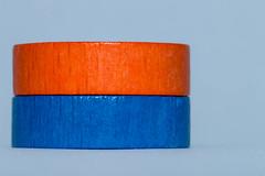 Orange and blue / Macro Mondays (camillagarin) Tags: macromondays orangeandblue