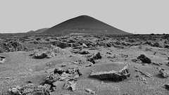 _3104875 (bl!kopener) Tags: spain canaryislands olympus omd em10 microfourthirds mirrorless m43 mft mzuiko 918mmf456 1836mm f456 mountainscape volcano monochrome blackandwhite bw landscape nik 2017 lanzarote mountain silverefexpro 16x9