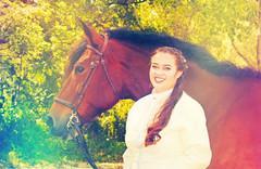 Jessica Senior Picture (Larah McElroy) Tags: photograph photography picture pictures larah mcelroy larahmcelroy people portrait portraits senior horse horses equine equines equestrian girl female