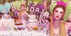 #0504 (the X fashion // xChelziex) Tags: enfer sombre ersch lcky cherry house addandel belle epoque serendipity {{ch}} the epiphany seasons story on9 gacha rare birthday pink kawaii bento skin makeup applier catwa