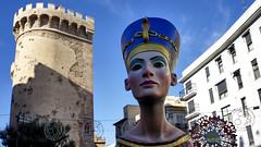 Cleopatra Fallas (Sailor Alex) Tags: valencia spain fallas architecture celabration fiesta fire city urban