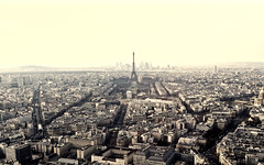 Paris, 2017 (gregorywass) Tags: eiffel tower tour paris france cityscape city montparnasse la defense aerial march 2017 skyline