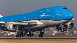 KLM PH-BFV 747- 406M