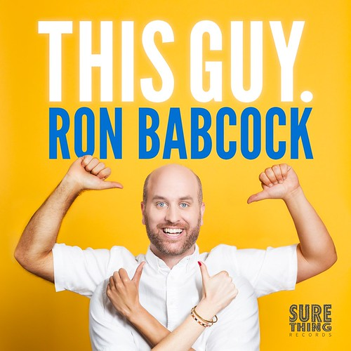 Ron Babcock This Guy comedy album cover