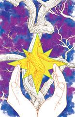 Stardust (Tym Stevens) Tags: stardust neilgaiman charlesvess vertigocomics tymstevens fourcolorfilms fantasy romance digitalart illustration princessbride
