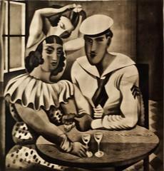 Untitled (1928) - José de Almada Negreiros (1893-1970) (pedrosimoes7) Tags: josédealmadanegreiros caloustegulbenkianmuseum moderncollection lisbon portugal brothel bordel sailor museu musée museum creativecommons cc artgalleryandmuseums masterpiecemansion ✩ecoledesbeauxarts✩