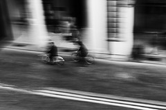 You can't keep running away (Filippo Magini) Tags: street black white running away keep
