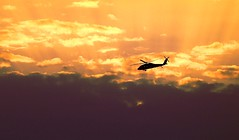 """""""Apocalypse Now"""" (Lior. L) Tags: apocalypsenow helicopter sunset clouds sky silhouette"""
