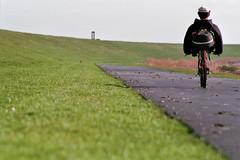 Ligfietsen naar Poort Kaap Noord