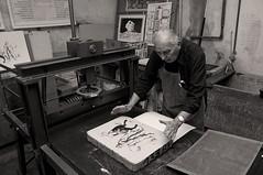 Der letze Meister (Martin Bauer_) Tags: reportage graz lithography handwerk master meister dokumentation handwork handicraft schwarzweis blackwhite