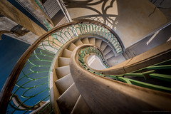 Potsdam Stairs (Sascha Gebhardt Photography) Tags: nikon nikkor d800 1424mm lightroom fototour fx travel tour roadtrip reise reisen staircase stairs steps treppenhaus treppe