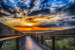My Florida (DonMiller_ToGo) Tags: beachlife hdr outdoors 3xp sunsetmadness hdrphotography pier onawalk sunsets sky sunsetsniper goldenhour clouds beachphotography florida