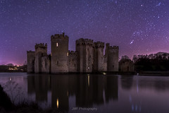 Timeless night (fieldino34) Tags: castle bodiam bodiamcastle nationaltrust eastsussex sussex night stars astronomy nightsky nightscape water moat lake reflection history england heritage historic landmark iconic nikon nikod750 peaceful tranquil spooky