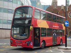 East Surrey Transit (londonbusexplorer) Tags: goahead london metrobus volvo b9tl wrightbus gemini 2 wvl336 wvl 336 lx59ddo lx59 ddo 405 west croydon redhill tfl buses