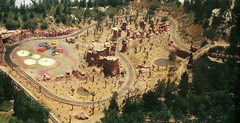 The Living Desert in Nature's Wonderland at Disneyland (Tom Simpson) Tags: disney disneyland vintage vintagedisney frontierland 1960s desert train railroad minetrainthroughnatureswonderland minetrain