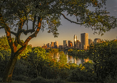 Brilliant (keith_shuley) Tags: sunrise austin texas brilliant bright intense downtown spring olympus