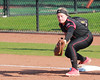 Snap! (RPahre) Tags: firstbase out firstbaseman siue southernillinoisuniversity southernillinoisuniversityedwardsville softball