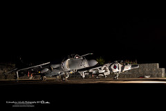 (jonathan_ed1984) Tags: jonathanwintlephotography jet jets classicjets aviation aviationlover aviationgeek aviationlovers aviationphotographer aviationphotography aviationporn timelineevents tle raf cosford rafcosford april 2017 vintage vintagejets harrier vtol vstol gr3 harriergr3 sea seaharrier royalnavy naval jumpjet arctic camo arcticcamo nightshoot night
