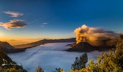Blue Sunrise Panorama (madi_patub) Tags: landscape landscapeshot landscapephotography nikon nikond7200 nikonphotography longexposure tokina1116 tokina sunrise sunlight bromo indonesia eastjava tengger national park