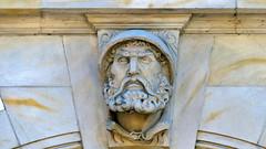 P1400916 Kamienna Góra, ratusz. Poland (stapaw) Tags: dolnośląskie lower silesian rzeźba sculpture head sudety sudetes