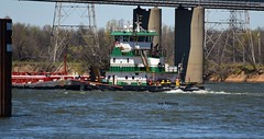 Mv Saint Charles_5573 (Porch Dog) Tags: 2017 garywhittington kentucky nikond750 fx nikon200500mm april outandabout spring mvsaintcharles tennesseeriver towboat barges