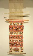 Chinantec Loom Telar Oaxaca Mexico (Teyacapan) Tags: mexican weaving tejidos telar looms oaxaca chinanteco sanpedrosochiapam museum