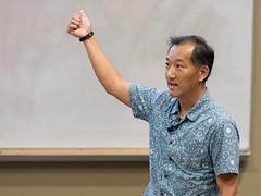 Professor Ken Ono (lsumath) Tags: louisiana onoken mathematicsdepartment usa mathematician porcellilecture northamerica lsu