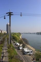 Köln/Rhein (EnDie1) Tags: endie1 köln rhein cologne rhine germany deutschland seilbahn zoobrücke wohnmobil