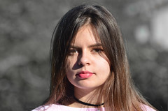 Pas de jalousie (maxguitare1) Tags: portrait retrato ritratto fille nina ragazza girl nikon gard france personne