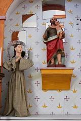 Saints (Piedmont Fossil) Tags: goliad state park texas mission espiritu santo statue