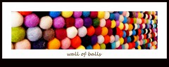 wall of balls (milomingo) Tags: saguarohotel scottsdale arizona resort getaway dining decor motif multicolored ball balls textile texture round fuzzy soft fabric wallofballs geometry perspective frame text photoborder colorful cotton cottonballs bright bold vivid vibrant fiber circlecrazy dof pof design