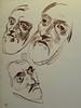 DELACROIX Eugène - Têtes, Etudes d'après la Gravure de L'Autoportrait du Titien (drawing, dessin, disegno-Louvre RF10612) - 0 (L'art au présent) Tags: drawing dessins dessin disegno personnage figure figures people personnes art painter peintre details détail détails detalles dessins19e 19thcenturydrawing croquis étude study sketch sketches frenchpaintings peinturefrançaise frenchpainters peintresfrançais louvre museum paris eugènedelacroix eugène delacroix france pose model man men portrait portraits head heads face visage autoportrait selfportrait selfportraits letitien titien berlin germany allemagne tizianovecellio tiziano vecellio gravure engraving after