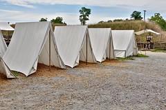 Continental Army tents (nutzk) Tags: virginia yorktown americanrevolutionmuseum recreated continentalarmy encampment