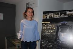 Carmen Romera, ayudante de producción de 'La fosa borrada del sur'. (almeriainformacion) Tags: cine documental la fosa borrada del sur memoria histórica almería museo de