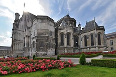 Saint-Omer (Pas-de-Calais) - Cathédrale Notre-Dame - Côté sud-est (Morio60) Tags: saintomer pasdecalais 62 cathédrale notredame