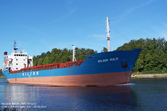 WILSON MALM (7810210) (005-09.09.2015) (HWDKI) Tags: wilsonmalm imo 7810210 schiff ship vessel hanswilhelmdelfs delfs kiel nordostseekanal kielcanal nok landwehr mmsi 215579000 generalcargoship frachter frachtschiff