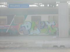 028 (en-ri) Tags: plex lilla verde azzuro train milano graffiti writing