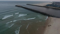 DJI Phantom 4 over Atlantic Ocean (apardavila) Tags: manasquan manasquanbeach djiphantom4 drone jerseyshore