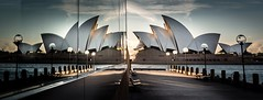 Sydney Opera House (Martin Snicer Photography) Tags: sydney australia sydneyoperahouse travel reflection window glass architecture 70d dslr canon wideangle 1018mm composition fineartphotography