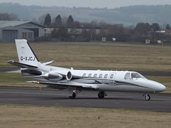 G-XJCJ Cessna Citation Bravo 550B Xclusive Jet Charter Ltd (Aircaft @ Gloucestershire Airport By James) Tags: gloucestershire airport gxjcj cessna citation bravo 550b bizjet xclusive jet charter ltd egbj james lloyds