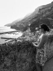 La dolce vita (Cortuska) Tags: chiara amalfi costieraamalfitana sea landscape people portraits bw