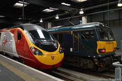 92033 With the Down Sleeper at London's Euston (Daniel Matthews Photography) Tags: caledonian sleeper class 92 london euston 390 92033