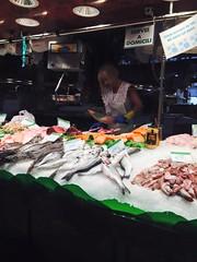 Barcelona (2015) (alexismarija) Tags: barcelona spain catalonia catalunya europe laboqueria laboqueriamarket market foodmarket food spanish fish seafood