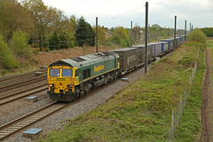 Shed on the divert! (DieselDude321) Tags: 66512 class 66 freightliner 4s44 1125 daventry coatbridge flt pilmoor north yorkshire