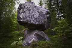 Megalith (aimoräty) Tags: juuka särkilampi finland megalith monolith stone
