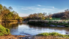Raccoon River (Justin Loyd Photography) Tags: color colorful river raccoonriver evening goldenhour springbrook park ngc eos canon6d 24105l iowa guthriecounty spring april beautiful water